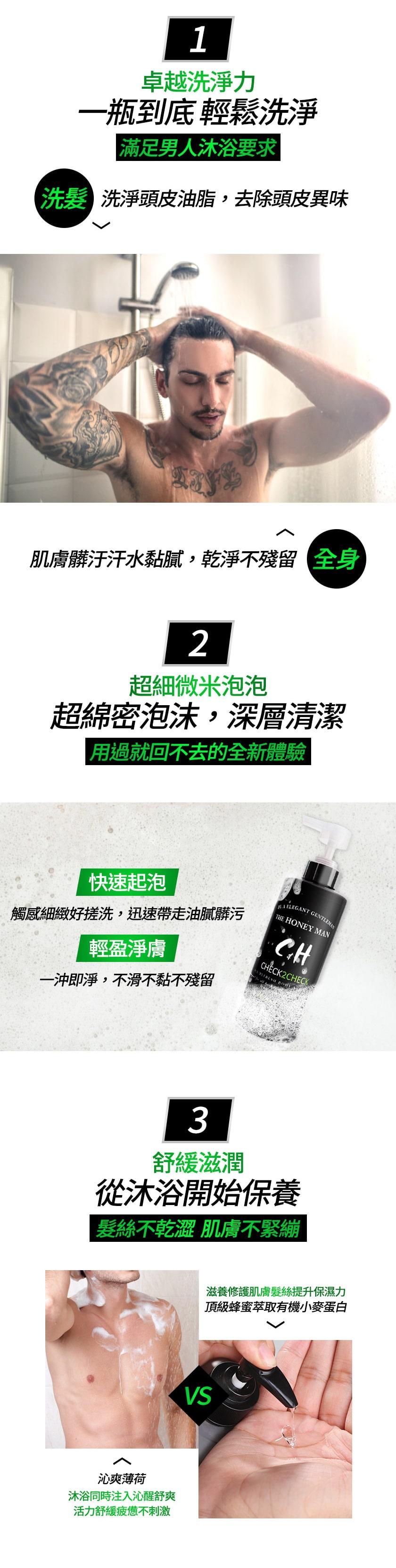 Check2Chec C&H聯名冰香洗髮沐浴精洗髮沐浴精