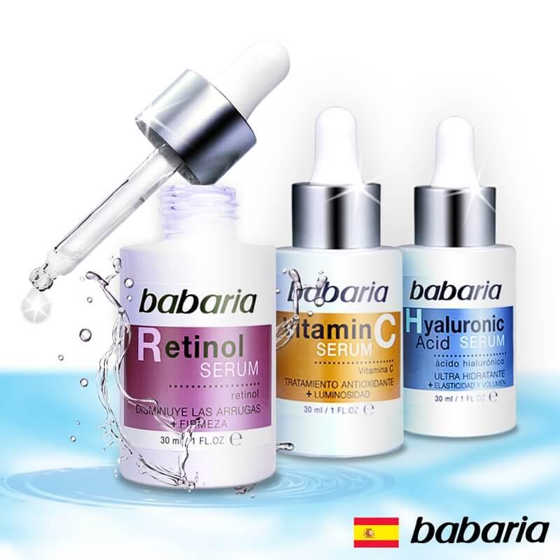 西班牙babaria精華