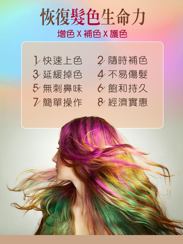 CHECK2CHECK NABI迷漾霧感矯色洗髮劑