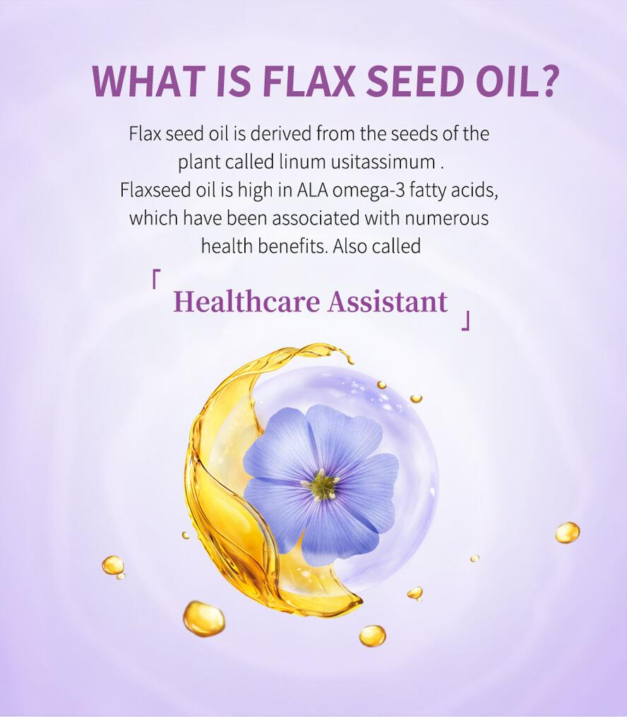 BHK's Flax Seed Oil Softgels