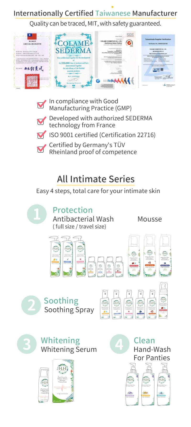 HH Antibacterial Wash+Soothing Spray