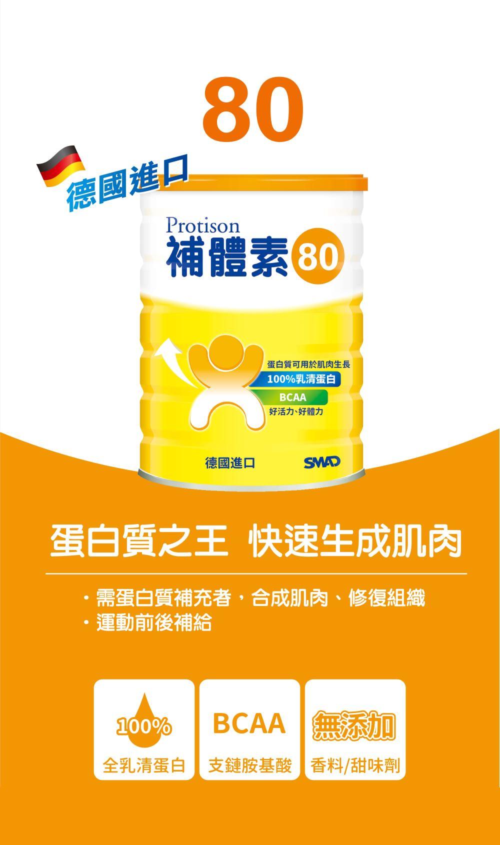 補體素 純80 乳清蛋白 250g