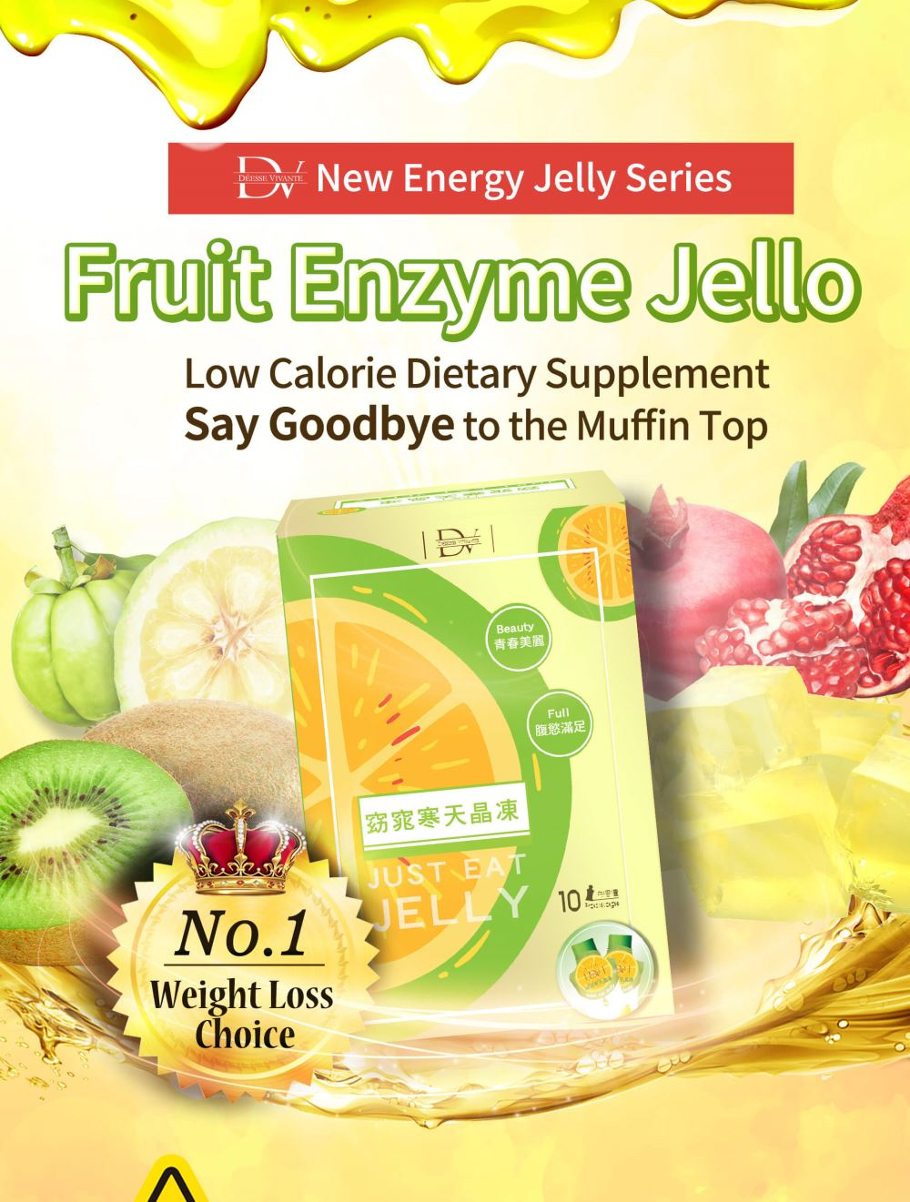 DV Fruit Enzyme Jello